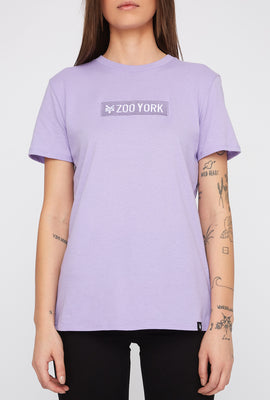 Zoo York Womens Pastel Box Logo T-Shirt