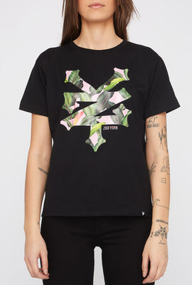 Zoo York Womens Tropical Logo T-Shirt