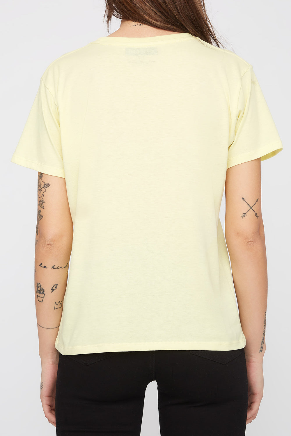 Zoo York Womens Tropical Logo T-Shirt Peach