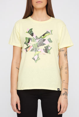 T-Shirt Avec Logo Tropical Zoo York Femme