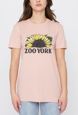 Zoo York Womens Sunflower T-Shirt