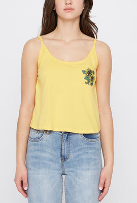 Zoo York Womens Cropped Tank Top