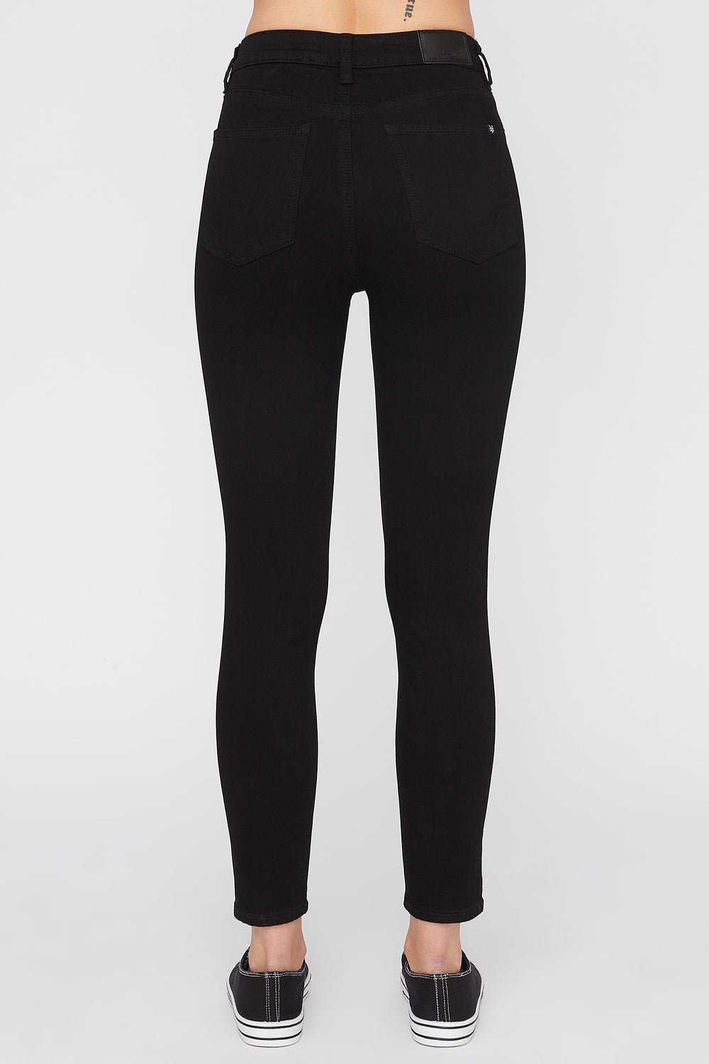 Zoo York Womens Black Skinny Jeans Black
