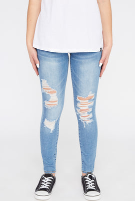 Zoo York Womens 3-Tier Curvy Jeans