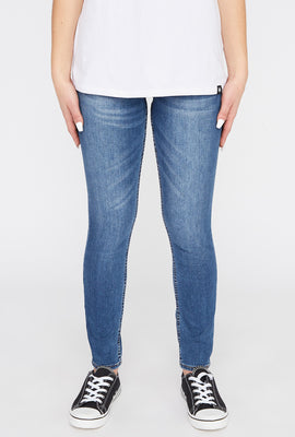 Zoo York Womens Medium Wash High Rise Jeans