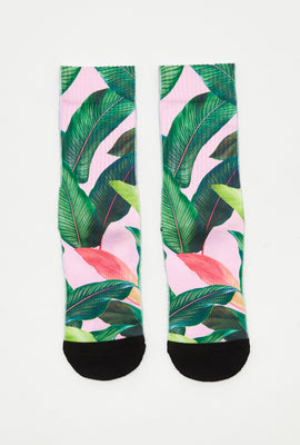 Zoo York Womens Tropical Crew Socks