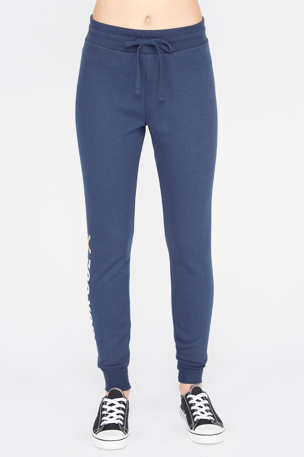 Zoo York Womens Fleece Joggers Navy
