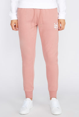 Zoo York Womens Embroidered Logo Jogger