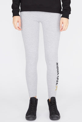 Zoo York Womens Classic Logo Leggings