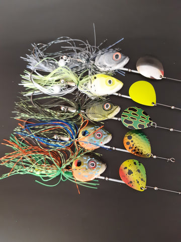 Head Shot 5 pack sampler SAVE 20% - The Ugly Pike Bait Co.