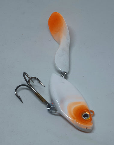 "6"" Waggerbait Swimmer - Ghost"