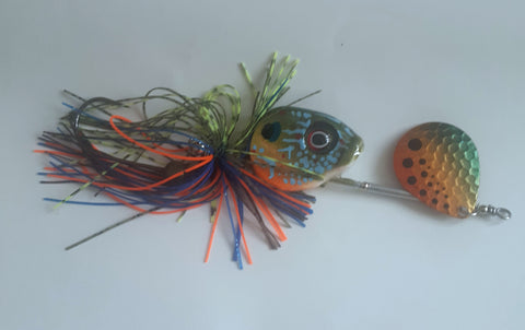 1/2 ounce Bluegill - Copper Dot blade