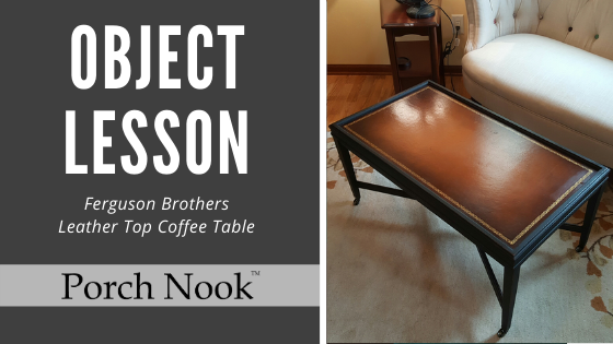Object Lesson | Ferguson Brothers Coffee Table