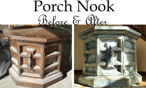 Porch Nook | Before & After