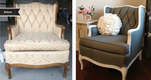 How To Paint Upholstered Furniture Porch Nook