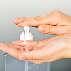 Adhere to these rules when making your hand sanitizer: •	Make the hand sanitizer in a clean space. Wipe down counter tops with a diluted bleach solution beforehand. •	Wash your hands thoroughly before making the hand sanitizer. •	To mix, use a clean spoon and whisk. Wash these items thoroughly before using them. •	Make sure the alcohol used for the hand sanitizer is not diluted. •	Mix all the ingredients thoroughly until they are well blended. •	Do not touch the mixture with your hands until it is ready for use.