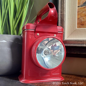 Vintage Sears Lightmaster Pocket Lantern Searchlight Flashlight, Model Number 20-4803