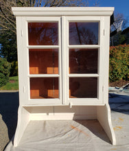"EXAMPLE: cabinet w/ ""Ol' Faithful"", semi gloss sealant"