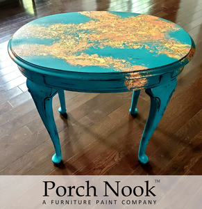 """The Real Teal"" Chalky Finish Paint by Porch Nook"