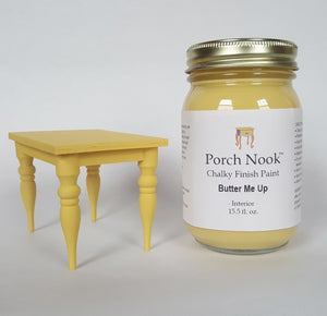 """Butter Me Up"", Chalky Finish Paint by Porch Nook"
