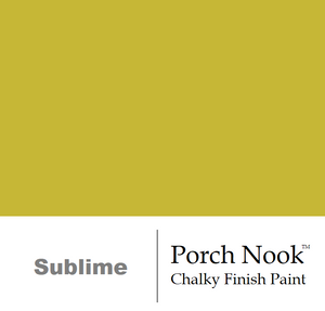 """Sublime"" - Chalky Finish Paint by Porch Nook"