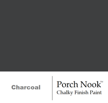 """Charcoal"", Chalky Finish Paint by Porch Nook"