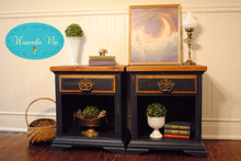 "EXAMPLE: Night stands w/ ""After Midnight"", designed by Nouvelle Vie in Bath, PA"