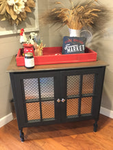 "EXAMPLE: Cabinet w/ ""Charcoal"", designed by Southern Inspired in Grenada, MS"