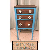 "EXAMPLE: Chest of drawers w/ ""Kiddie Pool"", designed by Wild Heart Vintage in Cedar Park, Texas"