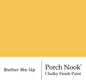 """Butter Me Up"" Chalky Finish Paint by Porch Nook"
