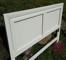 EXAMPLE: Headboard w/ Ol' Faithful, clear wax
