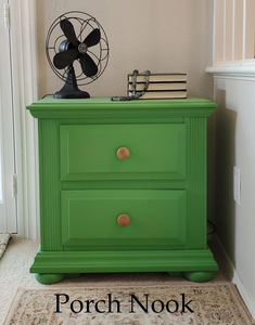 """Sugar Snap Pea"" Chalky Finish Paint by Porch Nook"