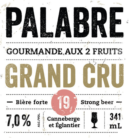 Gourmande aux 2 fruits Grand Cru | Palabre#19