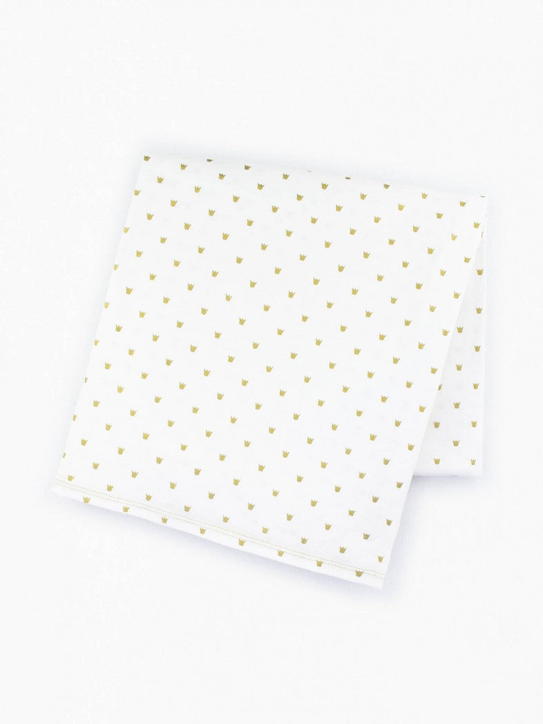 swaddle blanket by colored organics organic cotton