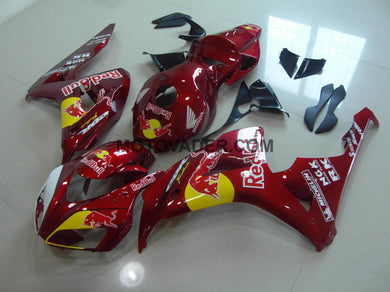 Honda CBR 1000RR 2006-2007 Candy Red Red Bull Fairing