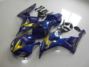 Honda CBR 1000RR 2006-2007 Dark Blue & Gold Sticker Fairing