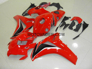 Honda CBR 1000RR 2008-2011 Red & Black & Silver Fairing