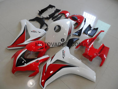 Honda CBR 1000RR 2008-2011 Red & White Fairing