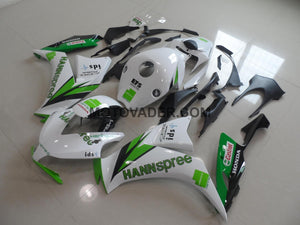Honda CBR 1000RR 2012-2013 Green Hannspree Fairing