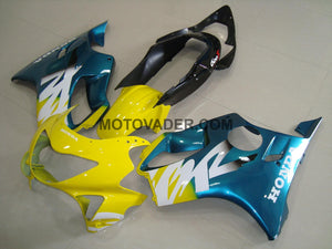 Honda CBR 600FS 1999-2000 Yellow & Green 2 Fairing