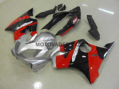 Honda CBR 600F4I 2004-2007 Black & Red & Silver Fairing