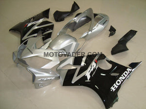 Honda CBR 600F4I 2004-2007 Black & Silver With Silver Tail Fairing
