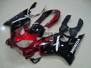 Honda CBR 600F4I 2004-2007 Candy Red & Black Fairing