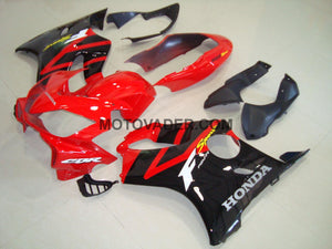 Honda CBR 600F4I 2004-2007 Red & Black Red Tail Fairing