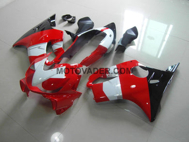 Honda CBR 600F4I 2004-2007 Red & White & Black Fairing