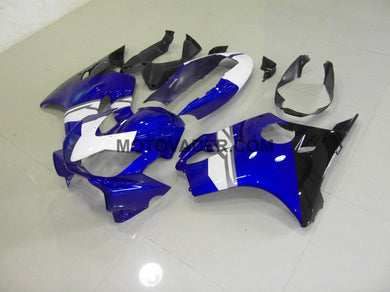 Honda CBR 600F4I 2004-2007 White & Blue & Black Fairing