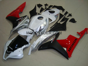 Honda CBR 600RR 2006-2007 White & Black & Red Fairing