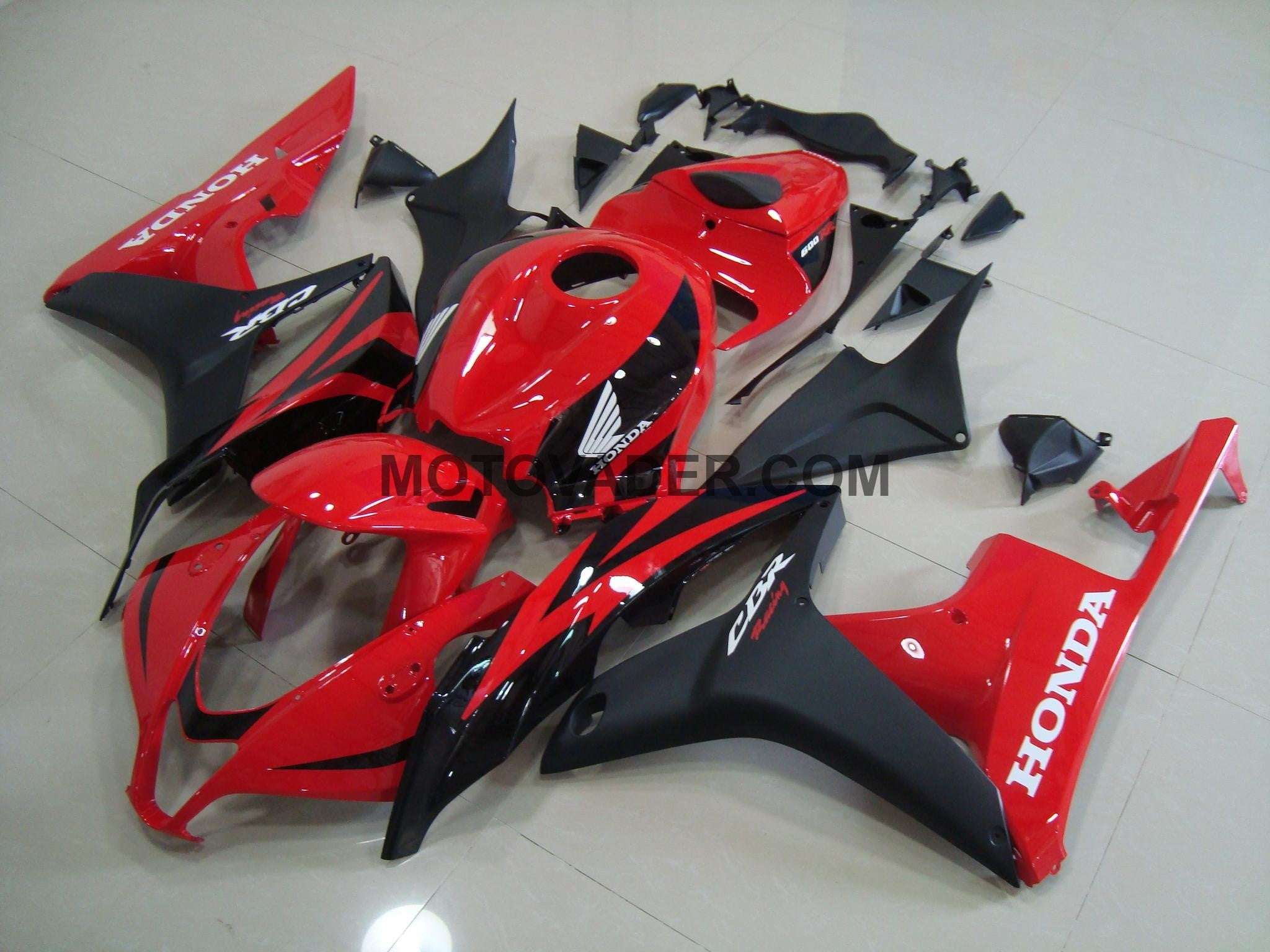 Honda CBR 600RR 2007-2008 Red Fairing