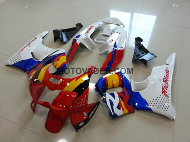 Honda CBR 900RR 893 1996-1997 Red & White & Yellow Fairing