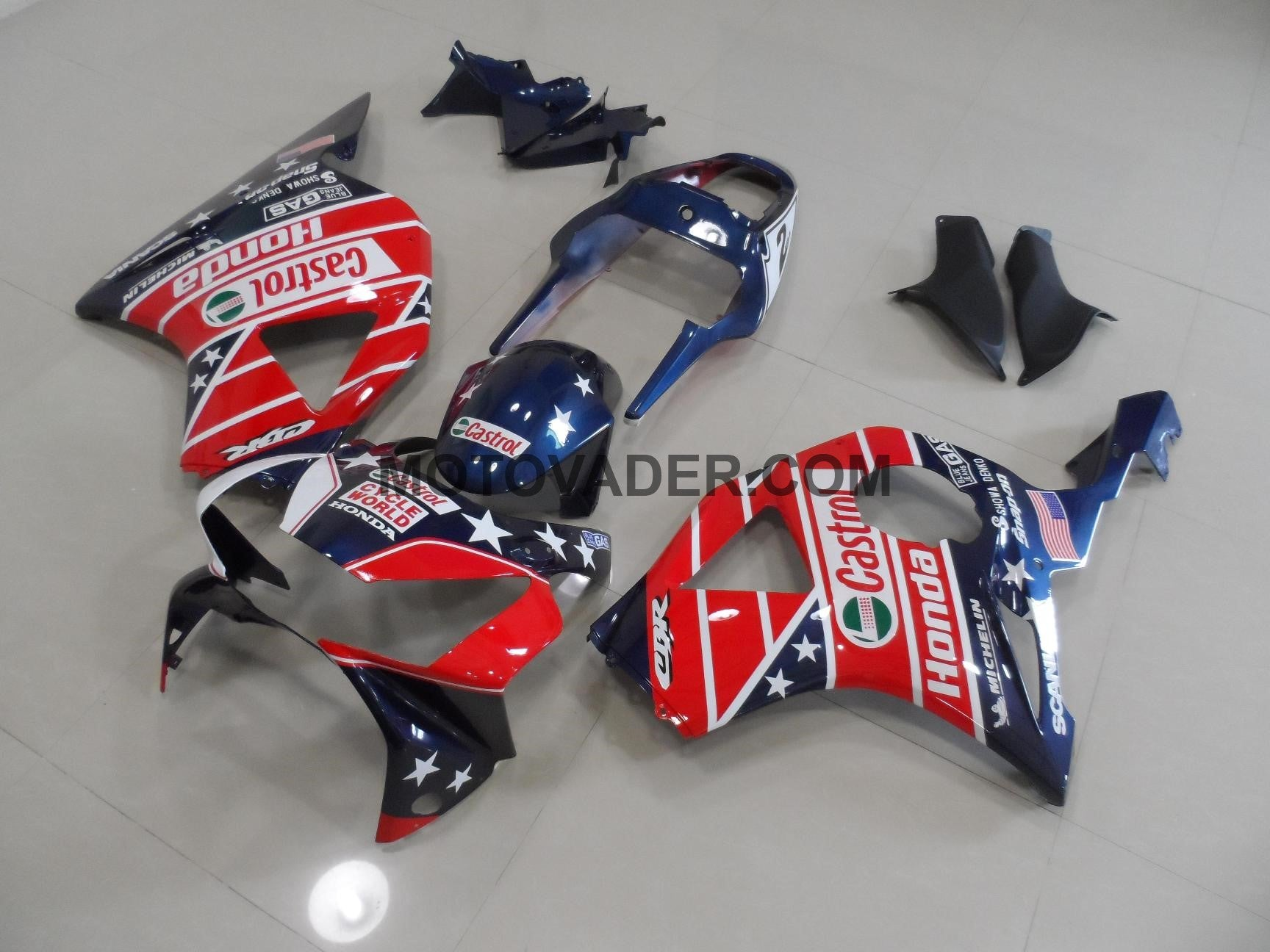 Honda CBR 900RR 954 2002-2003 Dark Blue Star Fairing
